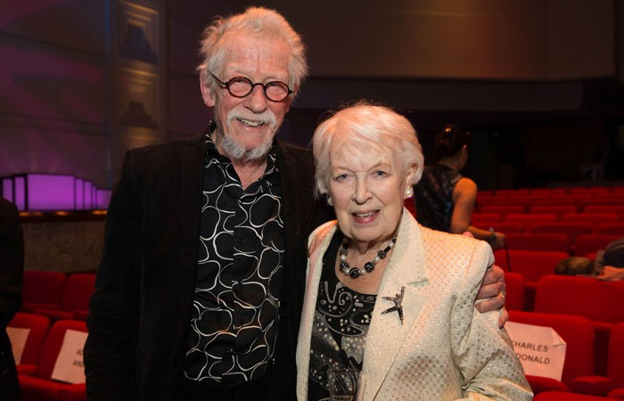 June Whitfield and John Hurt honoured at BBC Audio Drama Awards
